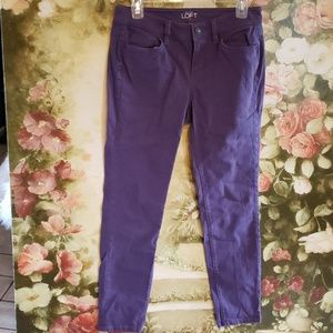 Ann Taylor LOFT Sz 6P jeans